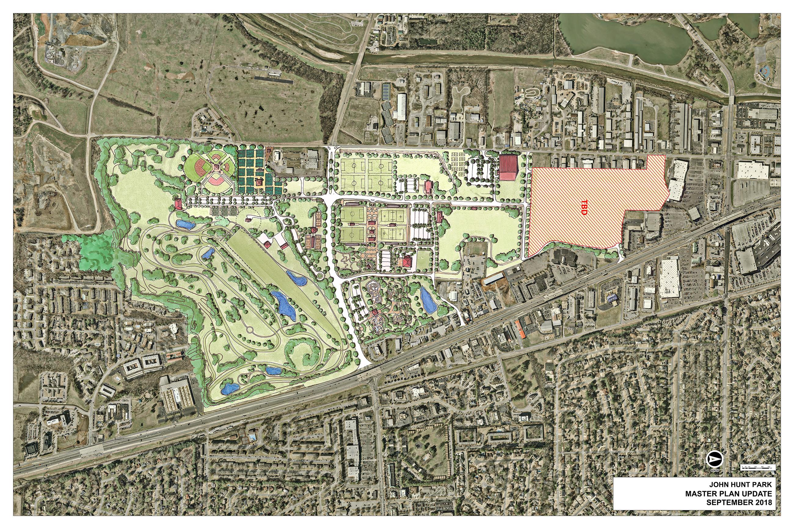 John Hunt Park Master Plan
